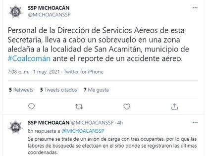 (Foto: SSP Michoacán)