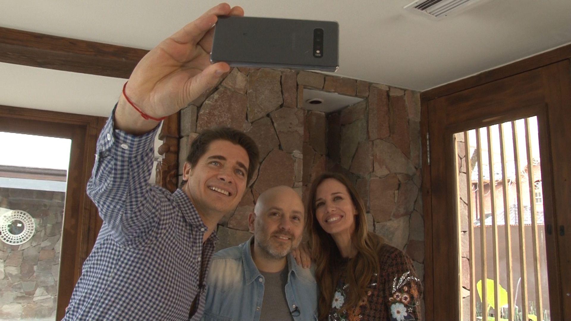 Guillermo Andino, José María Muscari y Carolina Prat