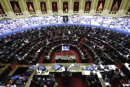 En la Cámara de Diputados de la Nación son varias las iniciativas presentadas sobre el tema Humedales (Foto: Cámara de Diputados de la Nación)