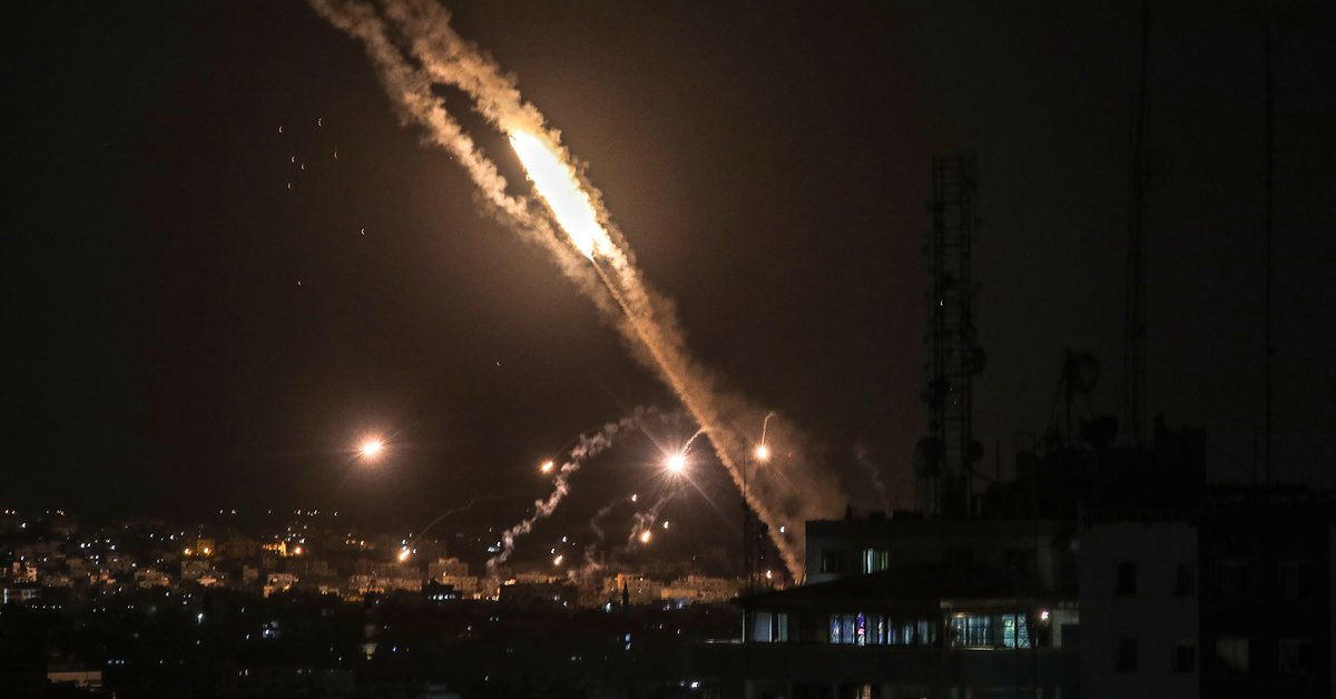 The Hamas terrorist group fired 2,300 rockets at Israel in the last 6 days