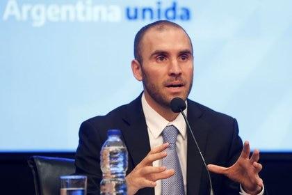 Martín Guzmán, ministro de Economía. (Reuters/Mariana Greif)