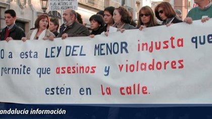 La polémica que despertó la aplicación en este primer caso de la nueva Ley del Menor, estremeció a toda España. Hubo marchas multitudinarias de escandalizados por la levedad de las penas