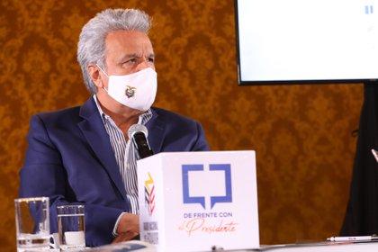23/11/2020 Lenín Moreno, presidente de Ecuador POLITICA SUDAMÉRICA ECUADOR INTERNACIONAL PRESIDENCIA DE ECUADOR