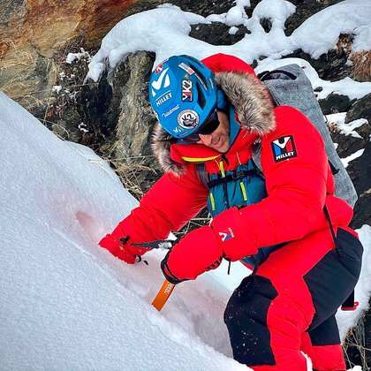 Mingote was one of the best mountaineers in the world (@sergimingote)