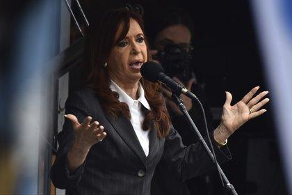 La ex mandataria argentina Cristina Fernández de Kirchner (Photo by Amilcar Orfali/LatinContent/Getty Images)