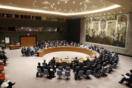 Vista general de una reunión del Consejo de Seguridad de la ONU.
