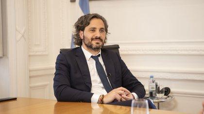 Casi en paralelo al comunicado llegó la respuesta del jefe de Gabinete, Santiago Cafiero