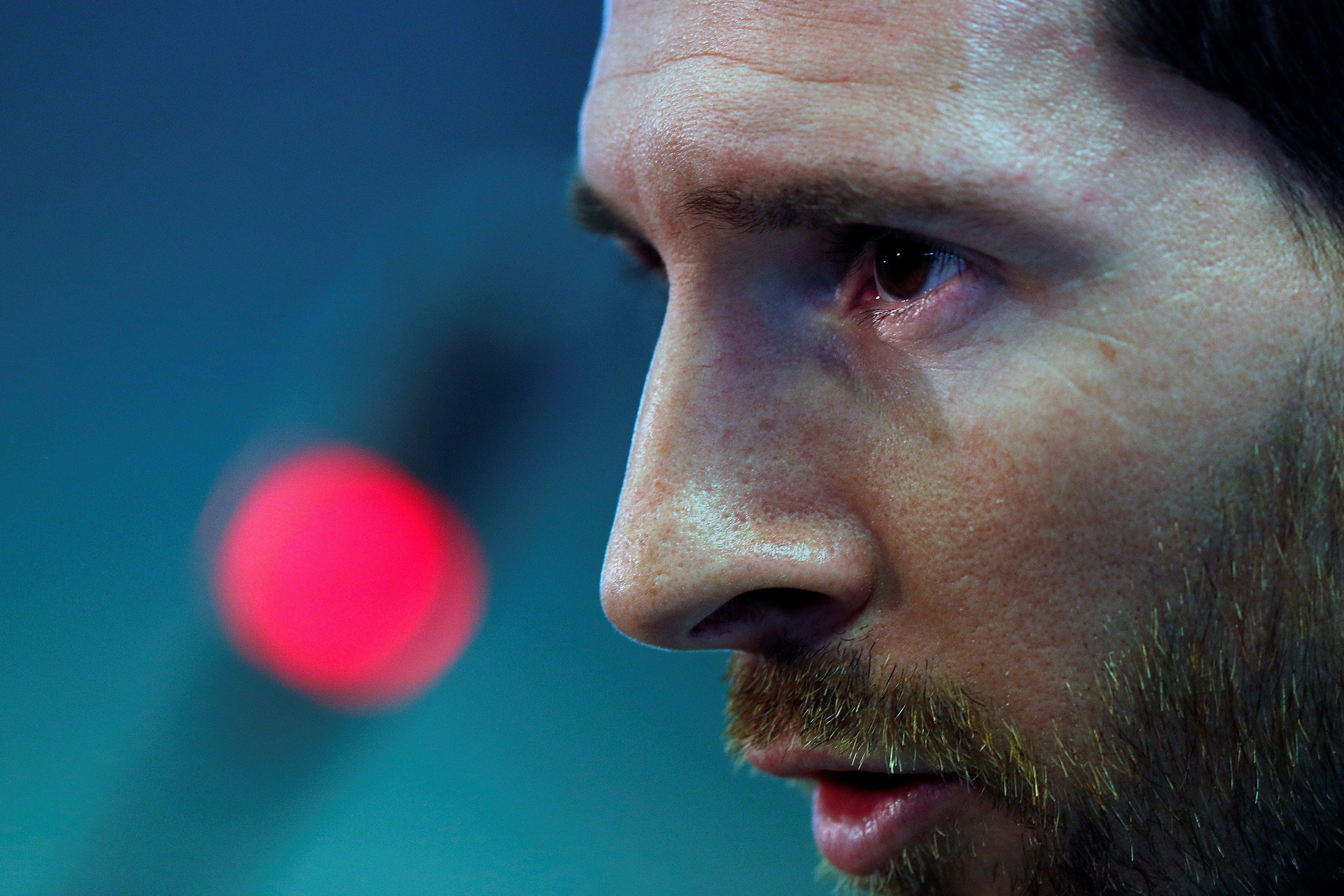 Messi está transitando su último mes de contrato con el Barcelona (EFE)