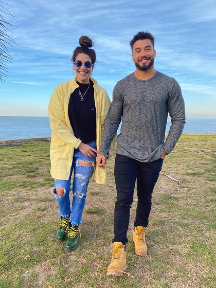 La foto que publicó Bruno Siri luego de confirmar su relación con Ivana Nadal, a nueve meses de haberse separado de Nati Jota