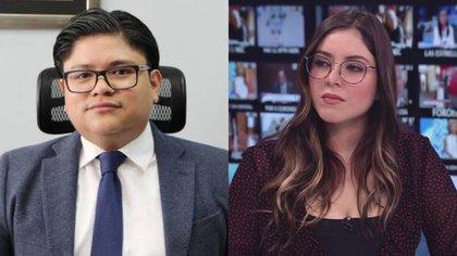 Gibrán Ramírez y Estefanía Veloz han sido centro de atención en redes sociales por sus críticas a otros comunicadores (Foto: Instagram @estefaniavloz)