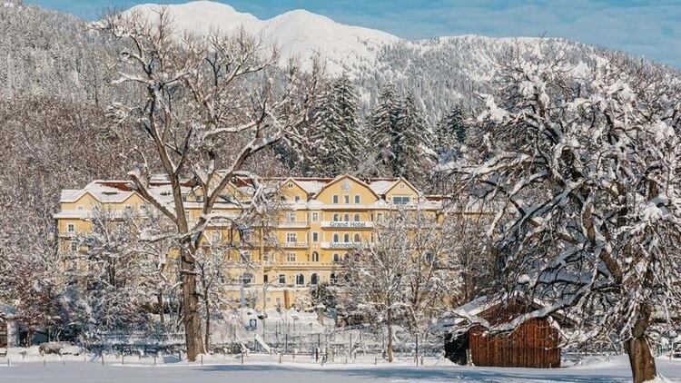 El Grand Hotel Sonnenbichl, en el sur de Alemania, cerca de la frontera con Austria