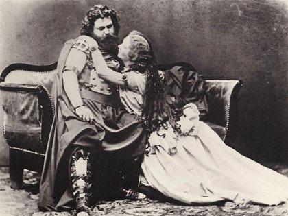 """Los esposos Joseph Albert Ludwig y Malwine Schnorr von Carolsfeld, primeros intérpretes de """"Tristán e Isolda"""""""