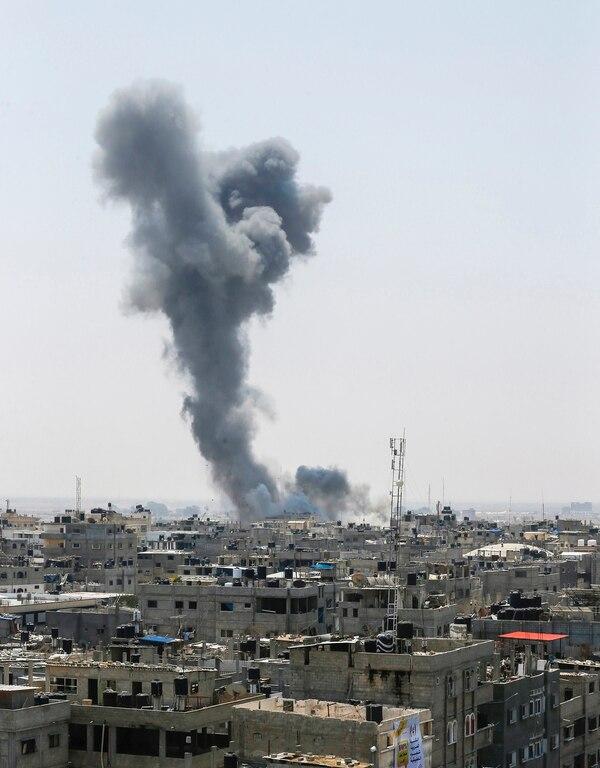 """El Ejército indicó que """"la organización terrorista Hamás es responsable de todos los acontecimientos que ocurren en la Franja de Gaza"""" (AFP)"""