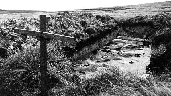 La fosa en Darwin donde se enterraron los 39 argentinos
