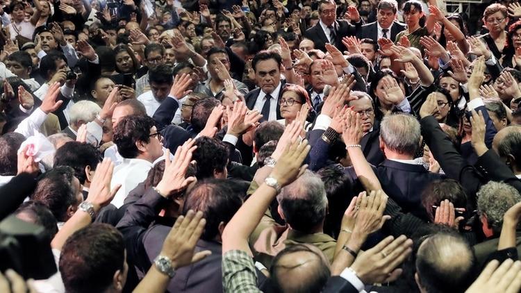 El ex presidente será enterrado este viernes (Reuters)
