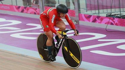 También en deporte no profesional gano la ciclista Jessica Salazar (Foto: Cortesía de Conade)