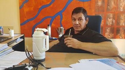 El dirigente admitió que el gobierno de Mauricio Macri no logró bajar la pobreza y defendió la gestión del intendente Leandro Altolaguirre, quien no se encontraba en el momento del discurso por una descompensación