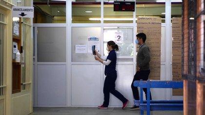 Hospital Zonal Esquel, donde permanecieron internados los pacientes más graves después del brote (Télam)