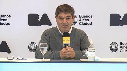 Quirós habló sobre el regreso de los entrenamientos de los equipos de Primera División