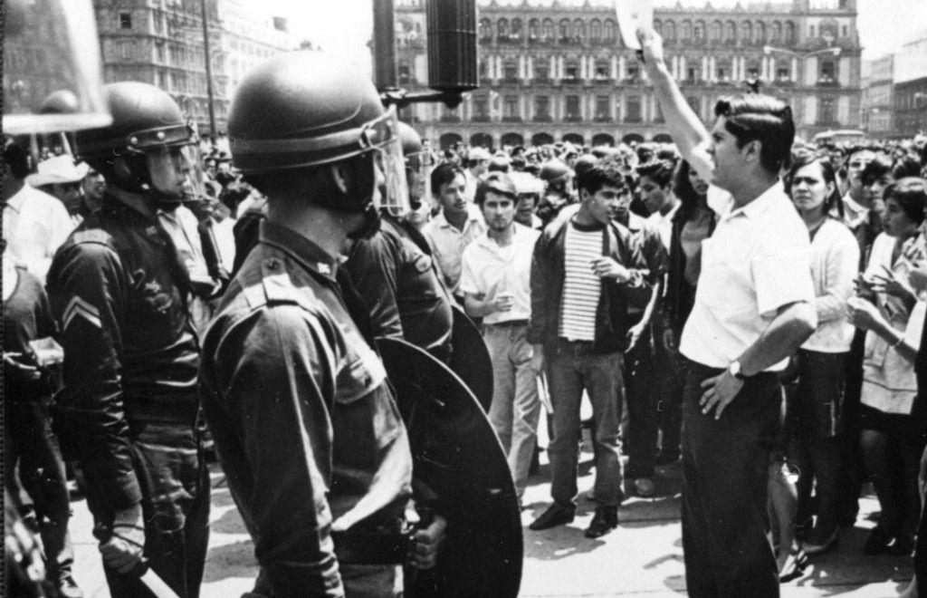 """Para el gobierno mexicano, detrás del movimiento estudiantil del 68 hubo """"intereses ajenos""""."""