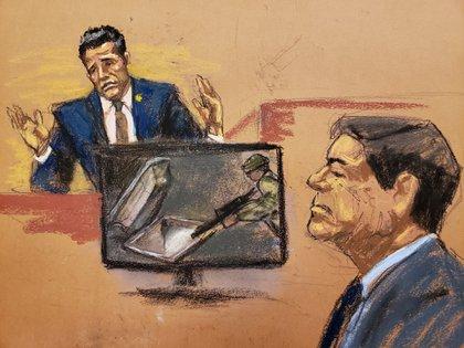 El de su primo es uno de los 20 crímenes de los que se acusó a Guzmán Loera durante el juicio en EEUU (Imagen: archivo)