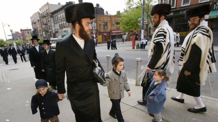 La comunidad judía ortodoxa de Brooklyn (Foto: AP)