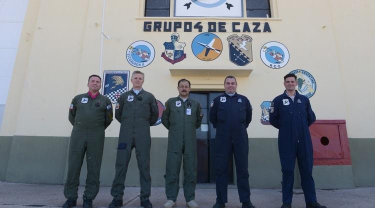 En la IV Brigada Aérea de Mendoza se capacitan a los pilotos de combate y alta montaña. Foto: Fernando Calzada.
