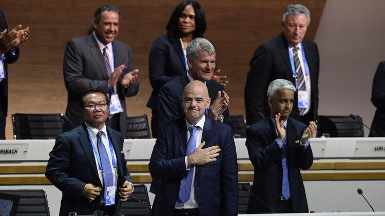 Infantino fue elegido presidente de FIFA en 2016 (Foto: AFP)