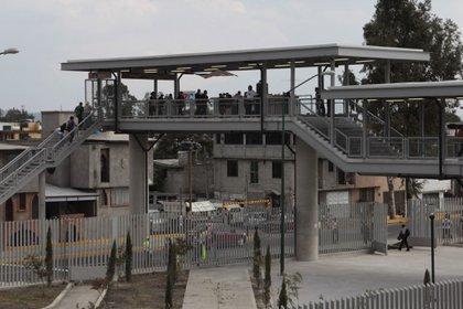 """Imagen de archivo de la estación Tláhuac, de la Línea 12 del Metro """"que corre de Mixcoac a Tláhuac (Foto: FOTO: ENRIQUE ORDÓÑEZ /CUARTOSCURO)"""