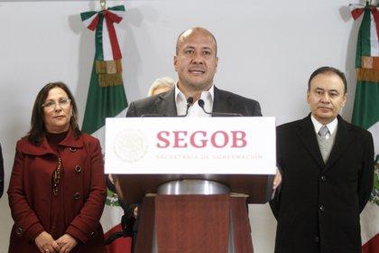 Enrique Alfaro, gobernador de Jalisco, confirma la suspensión de eventos masivos en el estado (Foto: Isaac Esquivel/ Cuartoscuro)