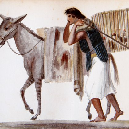 Linati plasmó en uno de sus libros una de las estampas más emblemáticas de México (Imagen: tomada del IMER)