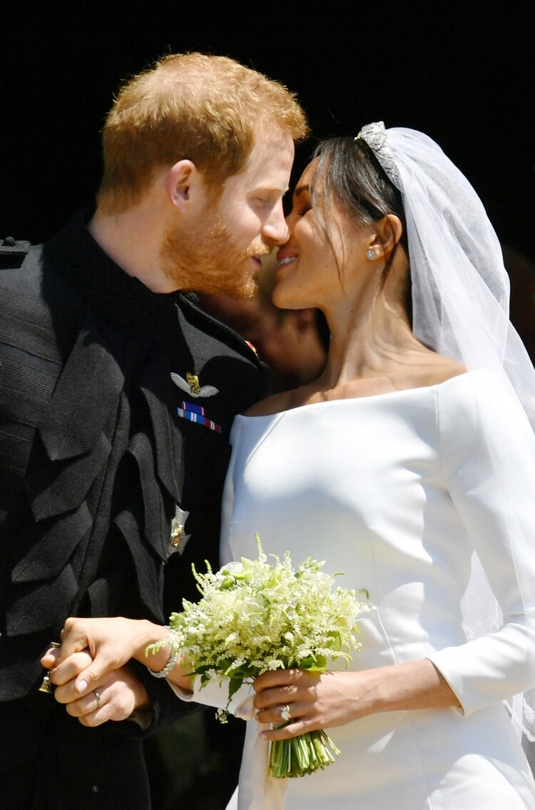El príncipe Harry y Meghan Markle se casaron el 19 de mayo en Windsor(AFP)