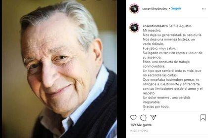 El recuerdo de Marcelo Cosentino