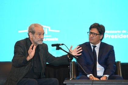 Mario Sábato y Germán Garavano