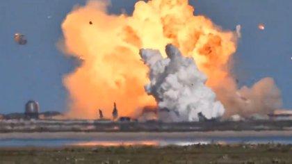 Por segunda vez consecutiva un prototipo de cohete de SpaceX explota al aterrizar