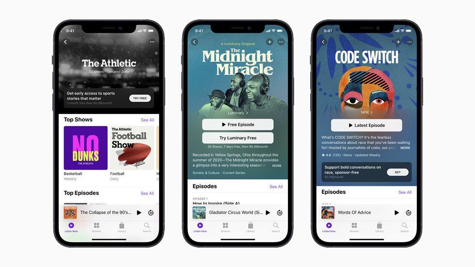21-05-2021 Apple Podcasts POLITICA INVESTIGACIÓN Y TECNOLOGÍA APPLE