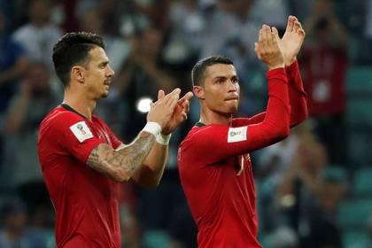 José Fonte integra el círculo íntimo de Cristiano Ronaldo en la selección de Portugal (Foto: Reuters)