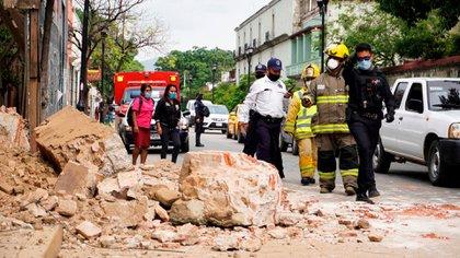En el estado gobernado por Alejandro Murat murieron seis personas (Foto: Óscar Méndez/ EFE)
