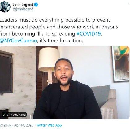 John Legend se unió también a la campaña