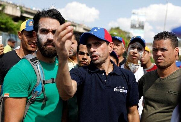 Henrique Capriles no podrá ser el candidato opositor en esta elección (REUTERS/Carlos Garcia Rawlins)