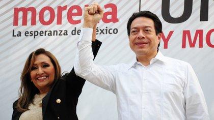 Delgado defendió la candidatura de Cuéllar, quien perdió las elecciones de 2016 en el estado por un margen de 2.36 puntos porcentuales (Foto: Cuartoscuro)
