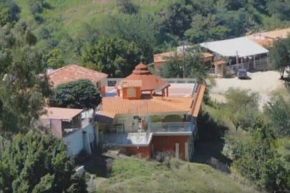El recinto esta en la propiedad de Consuelo Loera en La Tuna (Foto: Captura de pantalla WFMZ 69 Noticias)