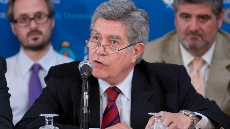 Marcelo Fuentes, jefe del bloque del FPV en la Cámara alta(NA)