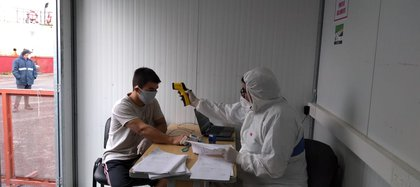 En los puertos argentinos se realizan diferentes controles para prevenir el coronavirus