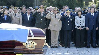 2017: el funeral de Alan Dolz, muerto en San Martín mientras estaba encubierto, también mientras investigaba una causa narco.