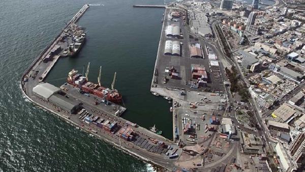 El puerto de Antofagasta, uno de los ejes del conflicto
