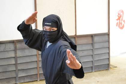 Un ninja durante un acto en Iga (Facebook Iga-ryu Ninja Museum)