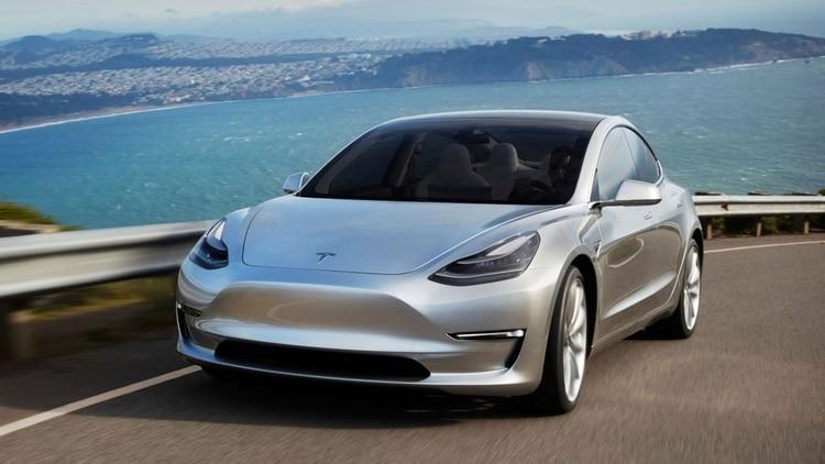 Un tesla Model S