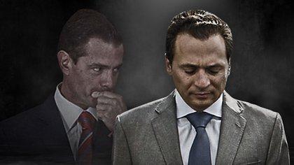 Emilio Lozoya y Enrique Peña Nieto (Foto arte: Jovani Pérez Silva)
