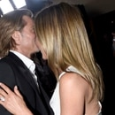 LOS ANGELES, CALIFORNIA - JANUARY 19: Brad Pitt and Jennifer Aniston attend the 26th Annual Screen Actors Guild Awards at The Shrine Auditorium on January 19, 2020 in Los Angeles, California. Vivien Killilea/Getty Images for SAG-AFTRA Foundation/AFP